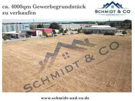 ca. 4.000qm Gewerbegrundstück an der B45 (nähe Dieburg) zu verkaufen