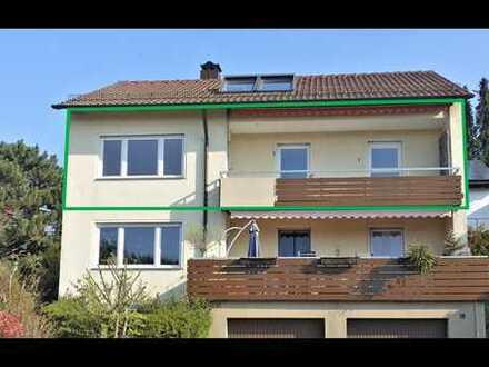 Provisionsfrei: Helle 3,5-Zimmer-Wohnung in ruhiger und sehr guter Wohnlage mit Ausblick