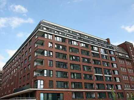 Neuwertige 3 Zimmer Wohnung mit zwei Terrassen + Loggia in Hammerbrook