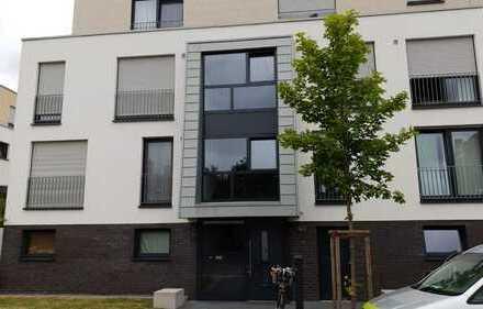 Neuss: Moderne Erdgeschosswohnung mit Garten