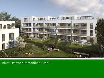 Erstbezug! Barrierefreies Wohnen, helle 4 Zimmer Wohnung mit Südbalkon und TG-Stellplatz