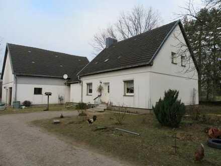 Resthof mit Wohhaus und Scheune in ruhiger Randlage