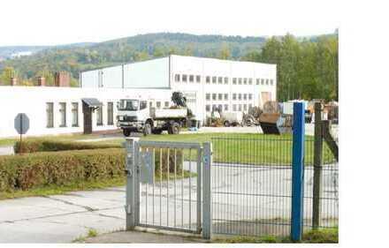 Attraktiv gelegenes Gewerbeobjekt mit Hallen (Gesamtfl. ca. 25.200 m²) in Schwarzenberg Erzgebirge