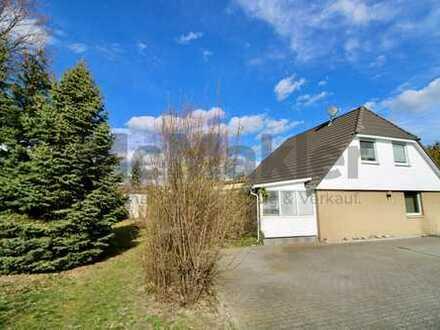 Familienparadies in grüner Lage: Komfortables 7-Zi.-EFH mit Garten und 2 Terrassen nahe Leipzig!