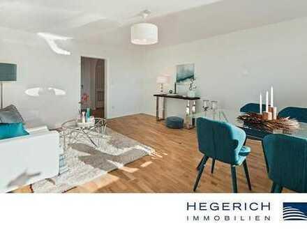 HEGERICH: Charmante 3-Zimmer-Wohnung mit Seeblick