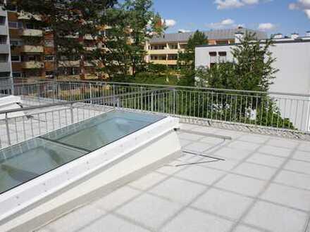 """""""SOFORT FREI - NEUBAU - Appartement W4 große Dachterrasse - A-Pfersee"""" zentrale ruhige Lage"""