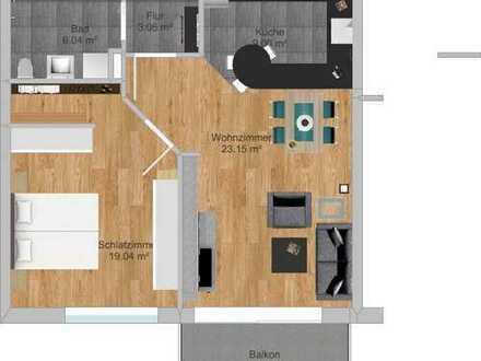Whg 7 Erstbezug: hochwertige 2-Zimmer-Wohnung mit Südbalkon in Buchloe