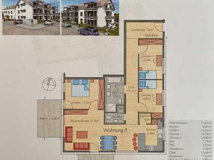 Neuwertige barrierefreie Wohnung mit 4,5 Zimmern mit Doppelgarage Nufringen