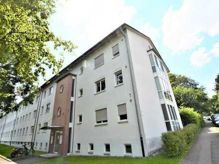 Tolle und vermietete Eigentumswohnung mit Balkon, Badewanne und Tiefgaragenstellplatz im schönen Ulm
