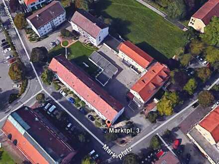 große Wohnung - mitten im Leben von Königsbrunn und doch sehr ruhig gelegen