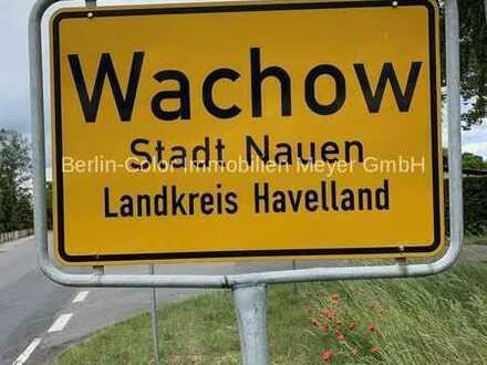 Baugrundstück in ruhiger Ortslage Nauen, OT Wachow