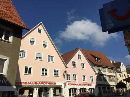 Mietangebot kurz- oder langfristig: Zentrale, möblierte 2-Zimmer-Wohnung in Leutkirch