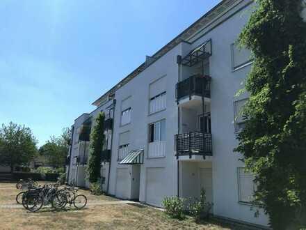 Gepflegte 2-Zimmer-Wohnung mit Balkon in Karlsruhe