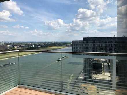 Leben am Strom - 3-Zimmer-Traumwohnung mit Weitblick im Rheinauhafen