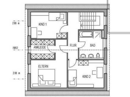 Erstbezug: schöne 5-Zimmer-Wohnung mit EBK und Terrasse in Oedheim