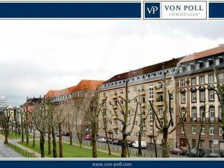 VON POLL Immobilien: Elegante Wohnung in der Bel Etage: gewerblich nutzbar !