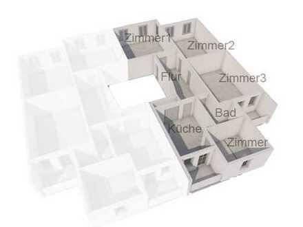 4-Zimmer-Altbau mit zwei sonnigen Balkonen, EBK und Stellplatz