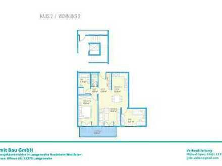 Drei Zimmer OG-Wohnung H2W2