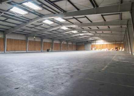 Flexible Lagerhallen - mehrfachteilbare Hallenabschnitte - hohe Toranzahl