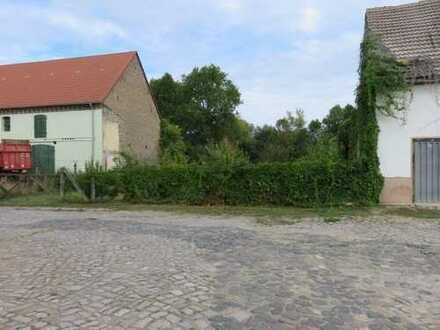 Teilerschlossenes Baugrundstück in Wippernähe und ruhiger Lage