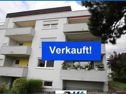 Schöne 2,5 Zi.-Wohnung mit Balkon u. Einzel-Garage in ruhiger Lage von Radolfzell - Bezugsfrei !