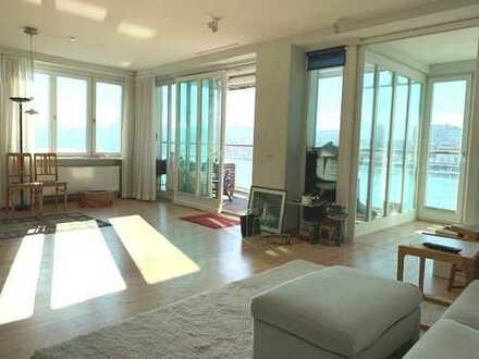Helle 3,5 Zimmer Eigentumswohnung mit Balkon u. traumhaftem Blick auf die Flensburger Förde