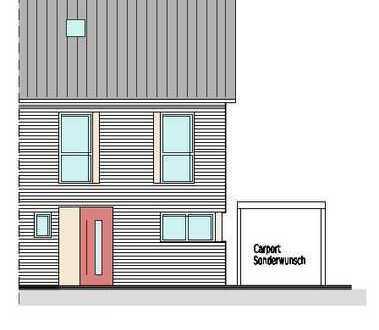 Vermietung - Neubau Doppelhaushälfte mit Terrasse und Garten in ruhiger, stadtnaher Lage von Borken