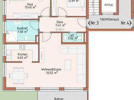 Neubauprojekt Harthausen - Haus 1 - Wohnung 3