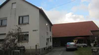 2 - Familienhaus freistehend mit Scheune in Riedelberg