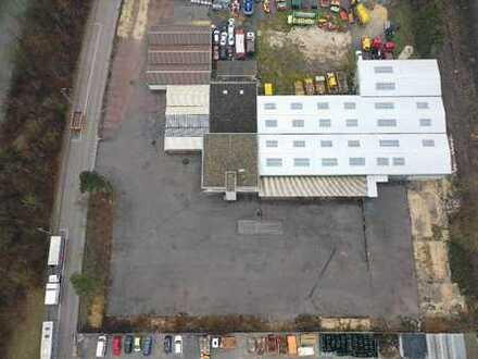 Büro und Verkaufsfläche mit großzügige Freifläche (4600 qm)