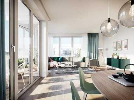 ***Maximilians Quartier***Perfekte 2-Zimmer-Wohnung auf ca. 66 m² mit gemütlicher Loggia