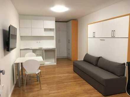 Exklusive 1-Zimmer-Wohnung mit Balkon in Karlsruhe