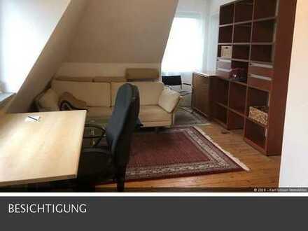 voll möblierte Dachgeschosswohnung 2 ZKB Nähe Waldstadion in Homburg-Saar