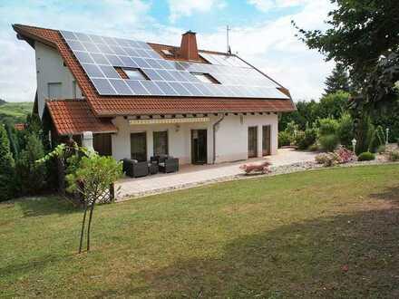 Luxuriöses Einfamilienhaus mit separater ELW und Pool provisionsfrei zu vermieten