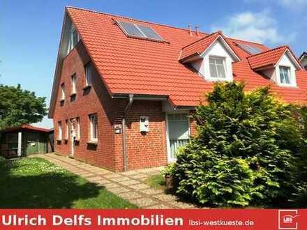 2 moderne Niedrigenergie-Doppelhaushälften in Niebüll