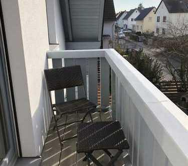 (Auf Wunsch möblierte) 3-Zimmer-Maisonettewohnung, Balkon, EBK, Garage in Ma Gartenstadt