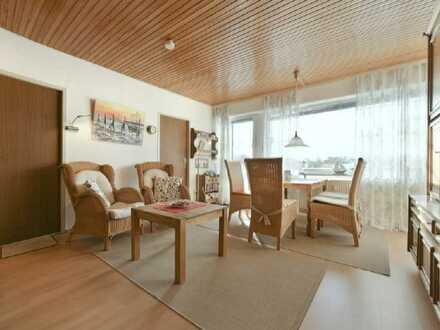Haus Seeluft - sonnige Ferienwohnung mit großem Balkon und zwei Schlafzimmern