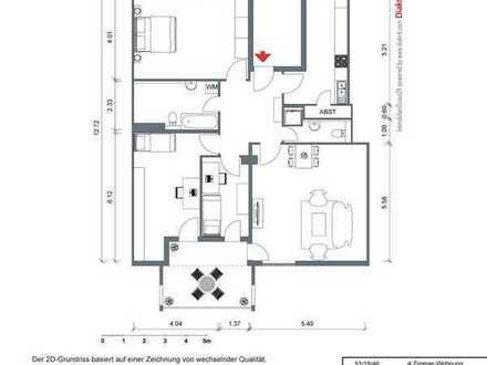 4-Zimmer-Dachgeschoss-Wohnung