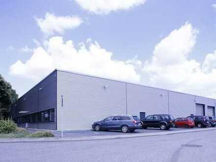 Flexibel nutzbare Produktions- und Lagerhallen mit Bürotrakten und Sozialräumen