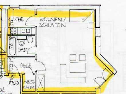 Gepflegte 1-Zimmer-Wohnung mit EBK in Regensburg