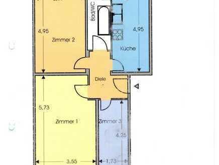 Zeitvertrag für schöne möblierte drei Zimmer Wohnung in Berlin, Reinickendorf