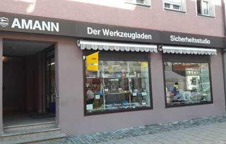 LADENGESCHÄFT (90 qm) in der Stadtmitte von Ravensburg