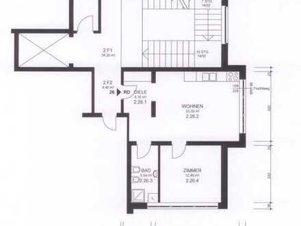 Tolle 2-Raum-Wohnung mit Einbauküche in Nagold