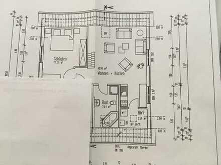 Freundliche, gepflegte 2-Zimmer-Wohnung mit gehobener Innenausstattung zur Miete in Dülmen