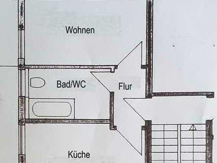 Schöne 1-Zimmer-Dachgeschosswohnung