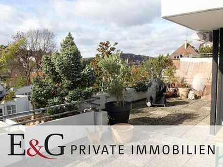 Sonnige 3-Zimmer-Terrassen-Wohnung in citynaher Halbhöhenlage in Stuttgart-Süd