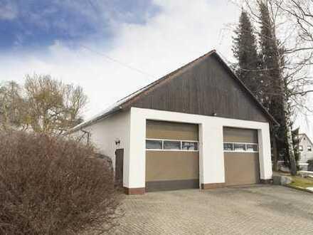 Große Halle mit Kühlhaus in Deißlingen