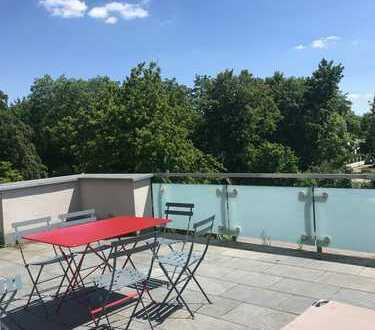 Über den Dächern von Neuhausen*** Penthouse mit besonderem Flair in Bestlage