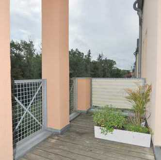 * ruhige Lage * Sonnige moderne 2-Raum Wohnung mit Balkon * EBK * FREI ab 01.06.19