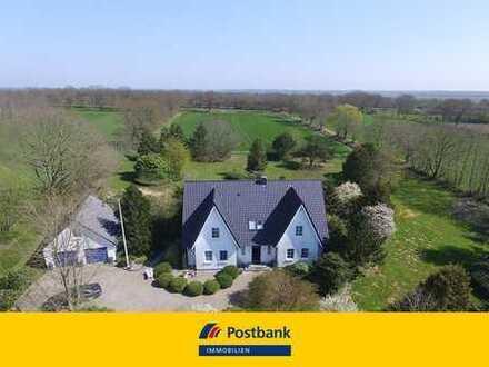 Exclusives und einzigartiges Anwesen im Herzen Schleswig-Holsteins! Pferdehaltung möglich!